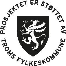 Prosjektet er støttet av Troms Fylkeskommune